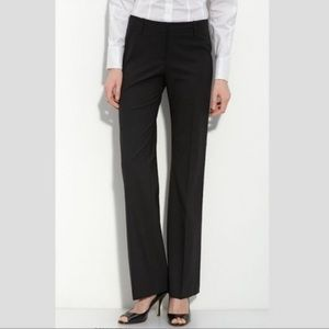 Hugo Boss Navy Pinstripe Classic Dress Pants